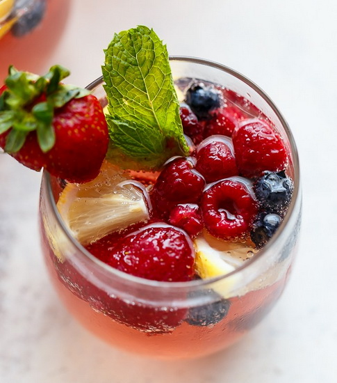 Berry Limoncello Sangria