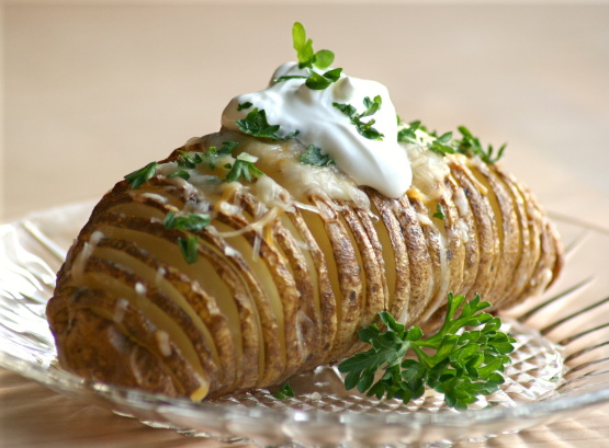 Elegant Baked Potatoes
