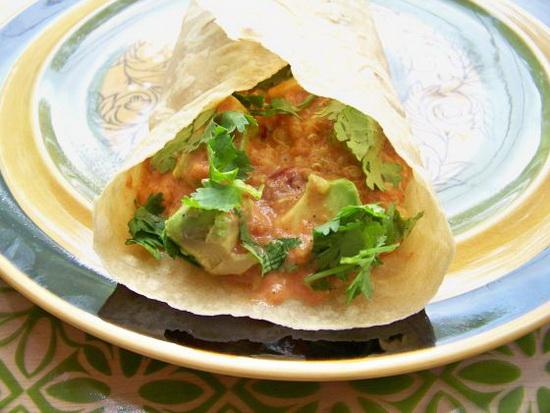 Southwestern Quinoa Burrito