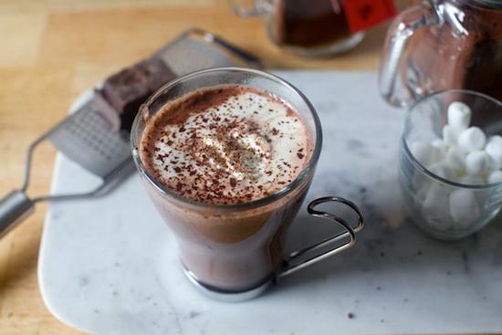 Low Fat Italian Hot Cocoa
