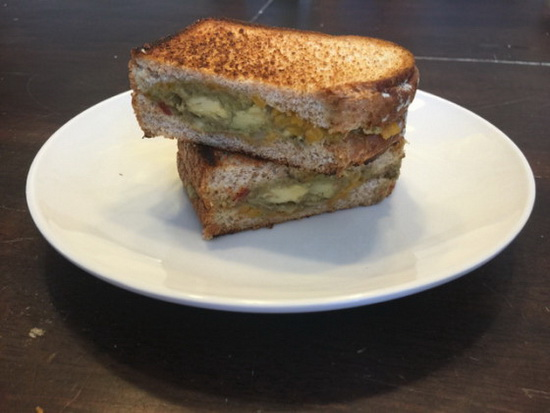 Guacamole Grilled Cheese Sandw