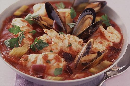 Mediterranean Seafood Casserol