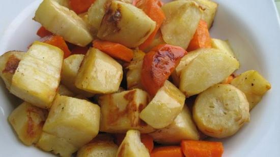Honey and Balsamic Oven Roaste