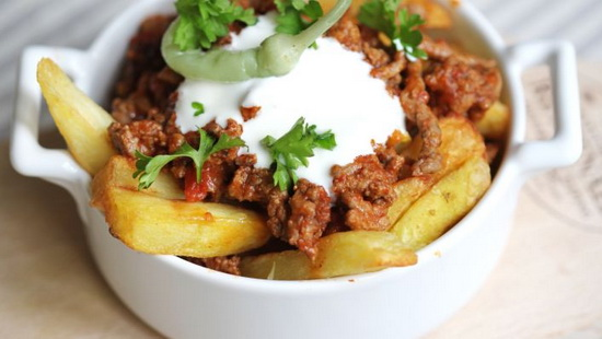 Beef Chili Cheese Fries