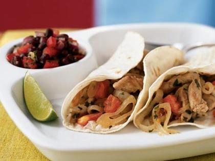 Lime-Cilantro Pork Tacos