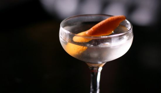 The Flame of Love Martini