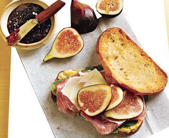 Prosciutto, Fresh Fig, and Man