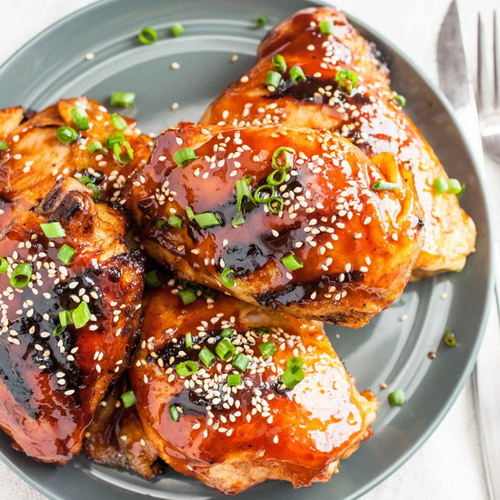 Sous Vide Korean BBQ Chicken