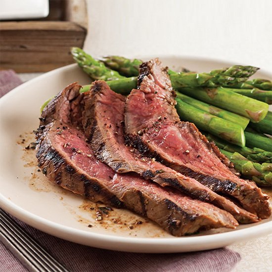 Grilled Flank Steak with Coffe