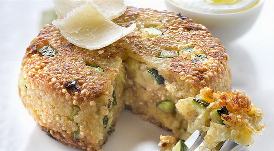 Gluten-free Quinoa, Zucchini a