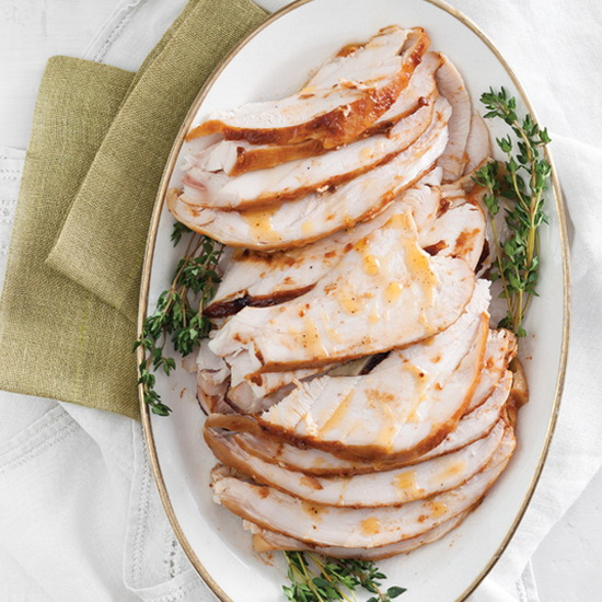 BBQ Butter-Basted Turkey Breas