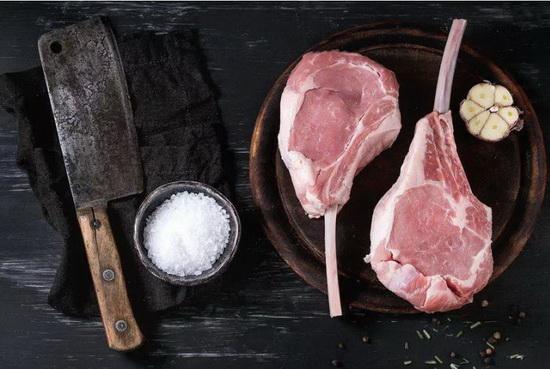 Veal Chop Brine From BLT Steak