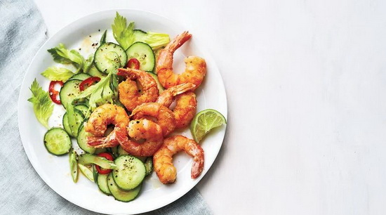 Salt-and-Pepper Shrimp With Cu