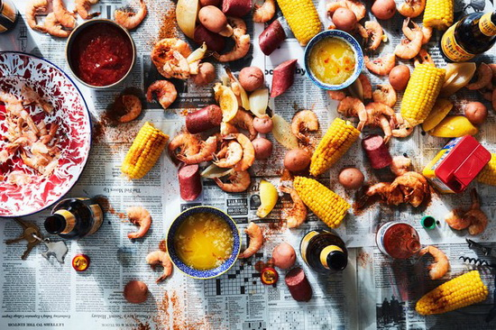Low-Country Boil with Shrimp,