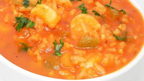 Autumn Shrimp Soup