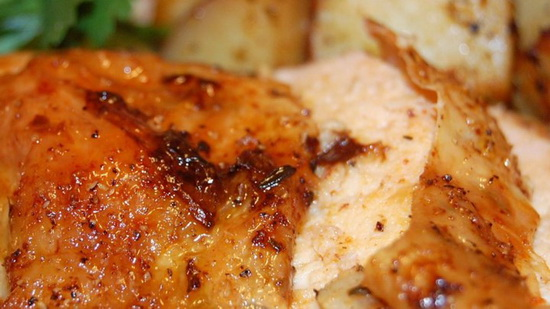 Roast Sticky Chicken-Rotisseri