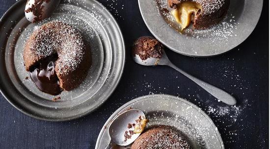 Molten Lava Cake 3 Ways