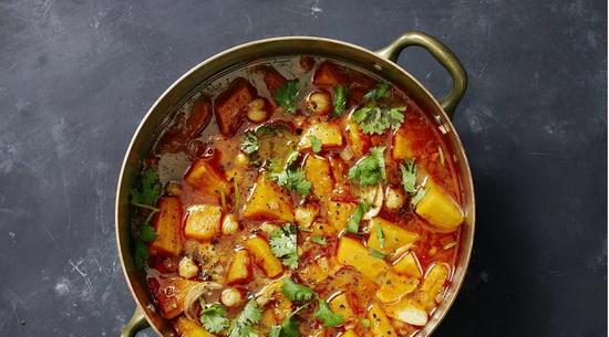 Roasted Pumpkin Soup With Hari