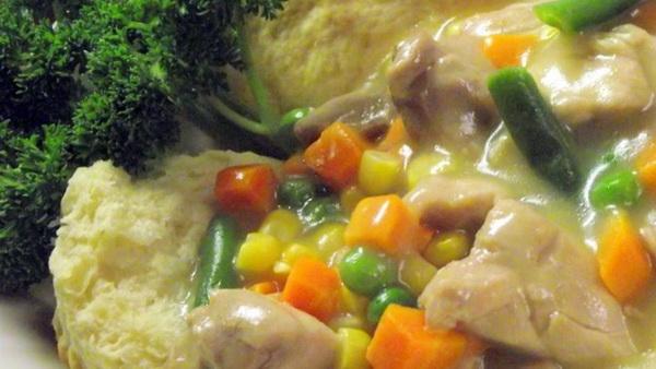 Slow Cooker Chicken Pot Pie St