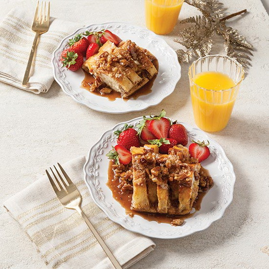 French Toast Casserole with Pr