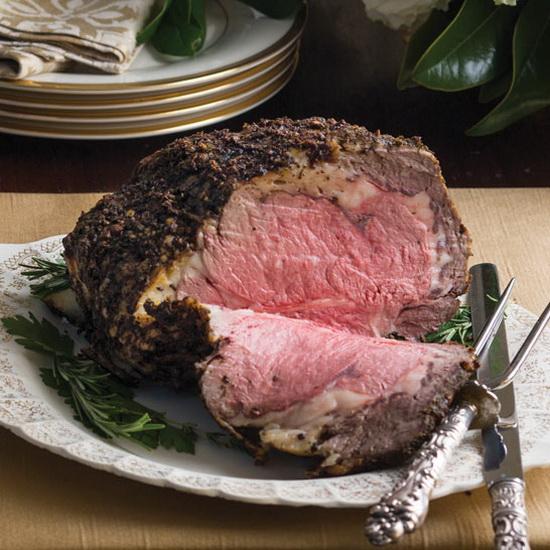 Herb-Crusted Rib Roast