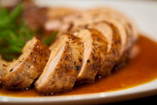 Pork in Orange and Maple