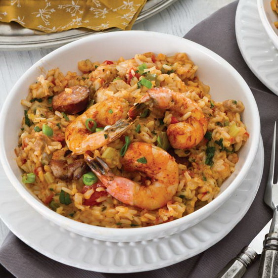 Chicken, Andouille, and Shrimp