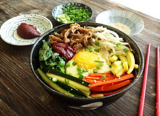 Bibimbap (Korean Rice With Mix