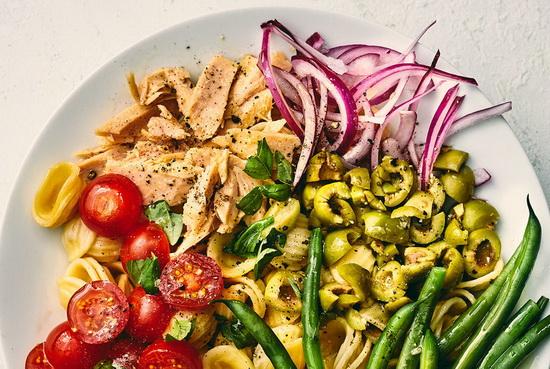 Tuna Orecchiette Salad