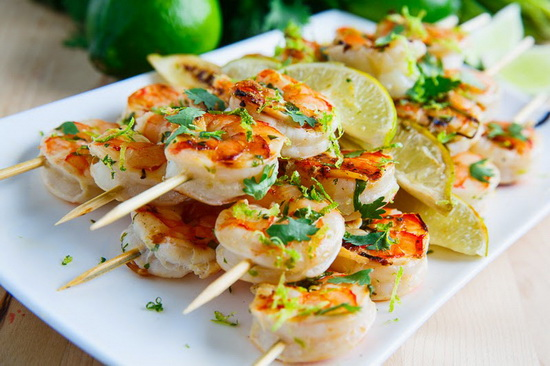 Spicy Coconut and Lime Grilled