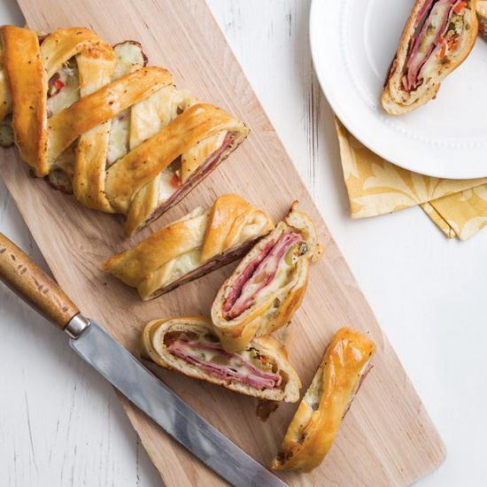 Muffuletta Stromboli