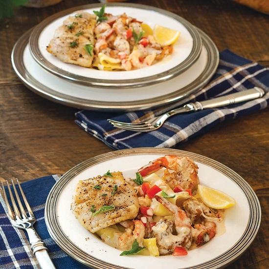 Blackened Shrimp and Crawfish