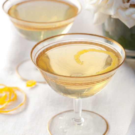 Champagne-Chartreuse Cocktail