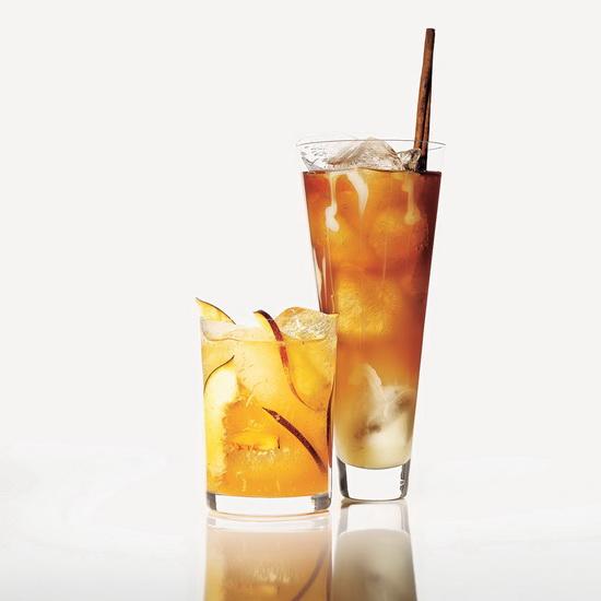 Gingery Peach Cooler