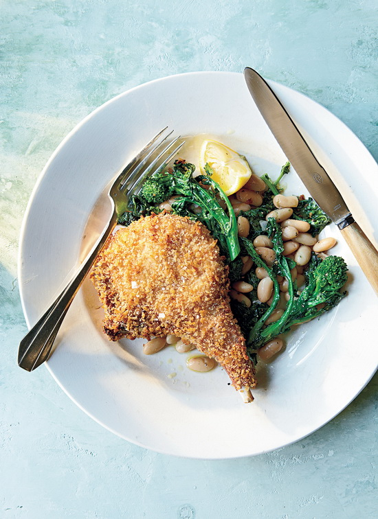 Panko-Crusted Pork Chops With