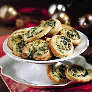 Spinach and Artichokes in Puff