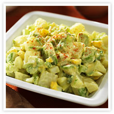 Wasabi & Avocado Potato Salad