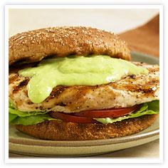 Ponzu Chicken Sandwich with Wa