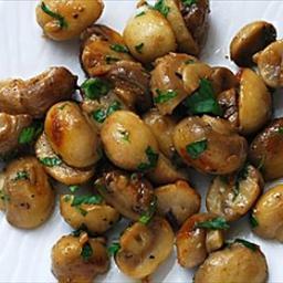 Mushrooms Sauteed with Garlic