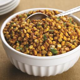 Chili Lime Skillet Corn