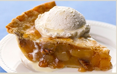 Blue Ribbon Caramel Apple Pie