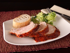 Roasted Turkey Breast with Spi